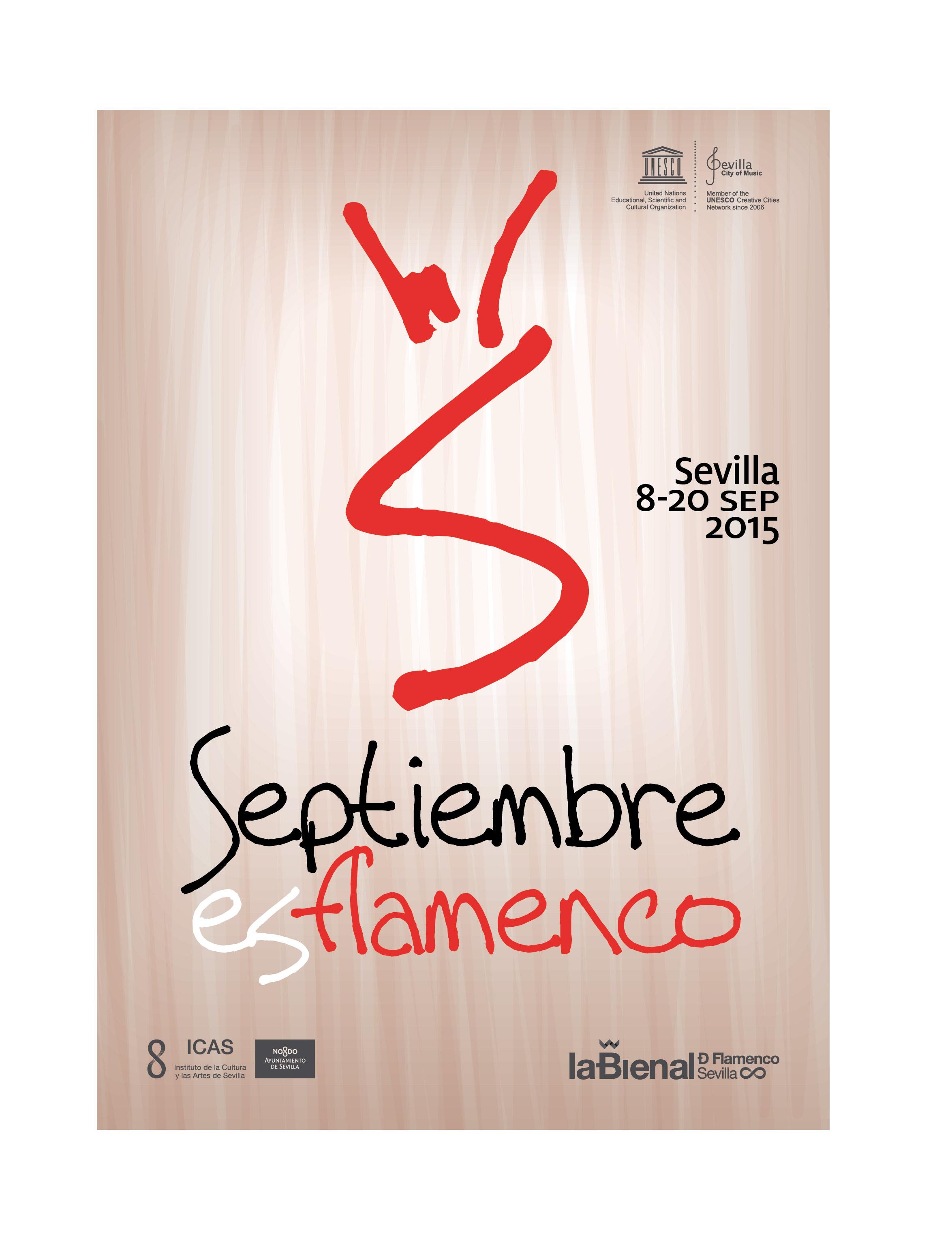 Septiembre es flamenco 2015 Sevilla