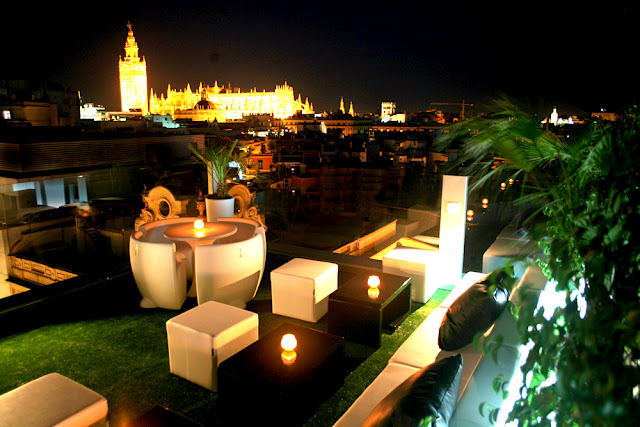 Terrazas de moda en sevilla sevitur - Terraza hotel eme ...