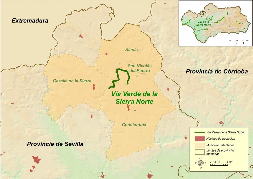 Mapa_VVSierraNorte_ VIA VERDEg